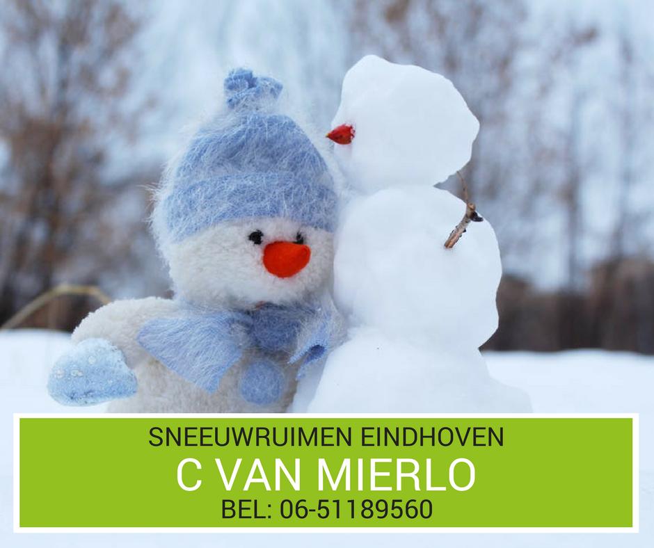 Sneeuwruimen Eindhoven